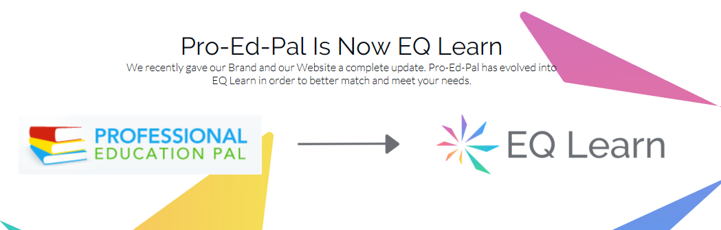 Professional Education Pal Is Now EQ Learn!